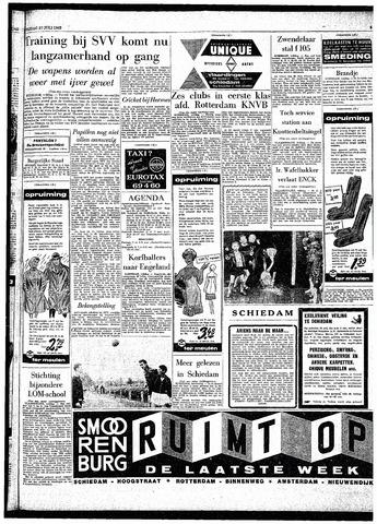 Rotterdamsch Parool / De Schiedammer 1962-07-27