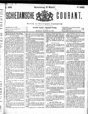 Schiedamsche Courant 1883-03-21