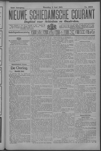 Nieuwe Schiedamsche Courant 1918-06-03