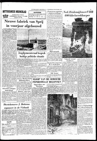 Rotterdamsch Nieuwsblad / Schiedamsche Courant / Rotterdams Dagblad / Waterweg / Algemeen Dagblad 1966-10-20