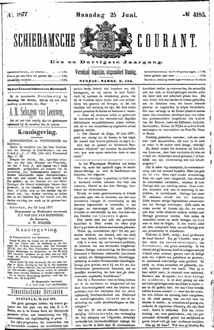 Schiedamsche Courant 1877-06-25