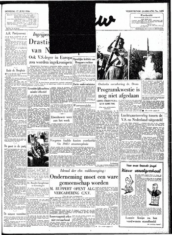 Trouw / De Rotterdammer 1956-07-17
