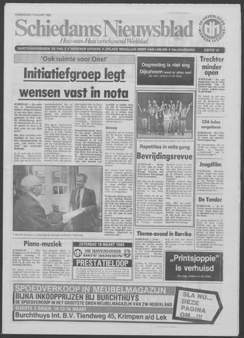 Schiedams Nieuwsblad 1985-03-13