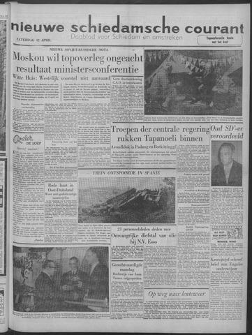 Nieuwe Schiedamsche Courant 1958-04-12