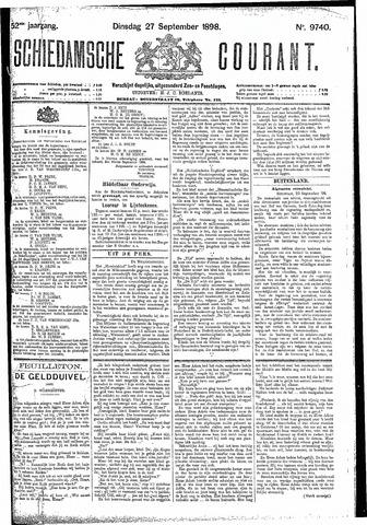 Schiedamsche Courant 1898-09-27