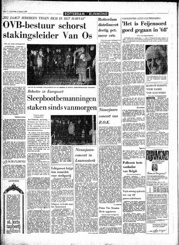 Rotterdamsch Parool / De Schiedammer 1969