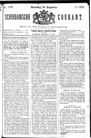 Schiedamsche Courant 1879-08-25