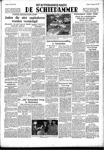 Rotterdamsch Parool / De Schiedammer 1948-04-09