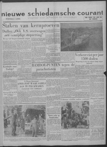 Nieuwe Schiedamsche Courant 1958-04-02