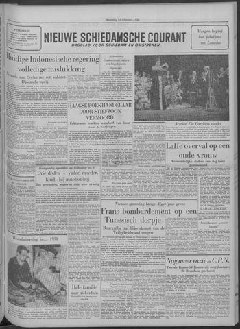 Nieuwe Schiedamsche Courant 1958-02-10