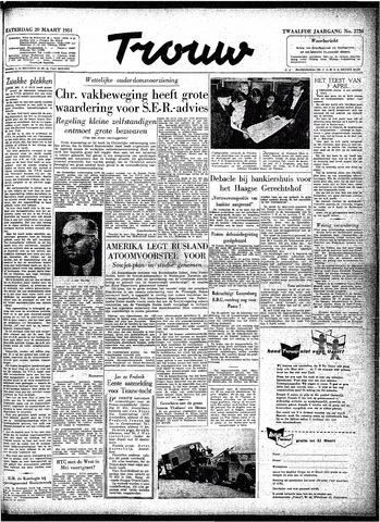 Trouw / De Rotterdammer 1954-03-20