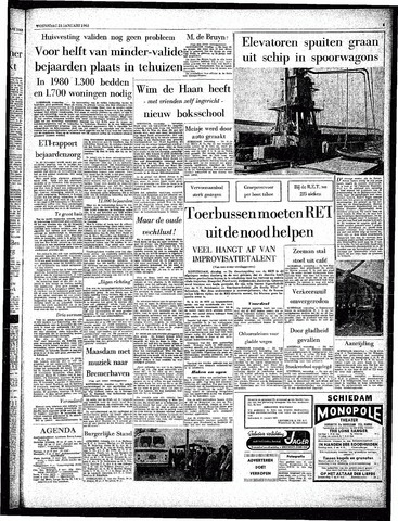 Rotterdamsch Parool / De Schiedammer 1963-01-23