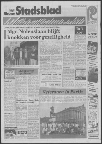 Het Nieuwe Stadsblad 1985-10-18
