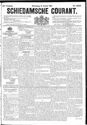 Schiedamsche Courant 1910-01-19