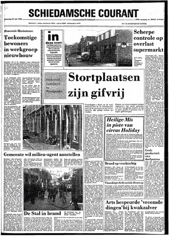 Rotterdamsch Nieuwsblad / Schiedamsche Courant / Rotterdams Dagblad / Waterweg / Algemeen Dagblad 1980-07-23