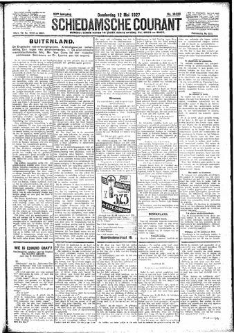 Schiedamsche Courant 1927-05-12