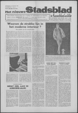 Het Nieuwe Stadsblad 1962-08-15