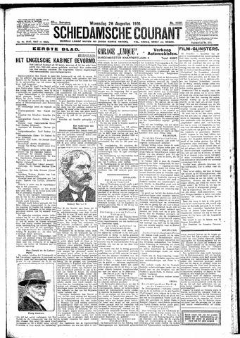 Schiedamsche Courant 1931-08-26