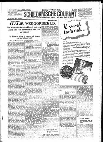 Schiedamsche Courant 1935-10-08