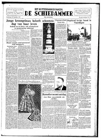 Rotterdamsch Parool / De Schiedammer 1947-11-20