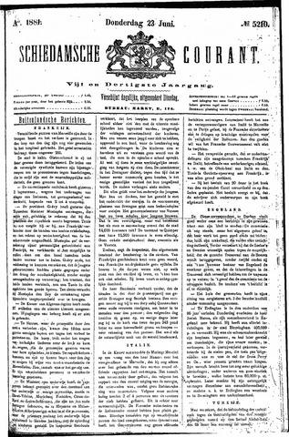 Schiedamsche Courant 1881-06-23