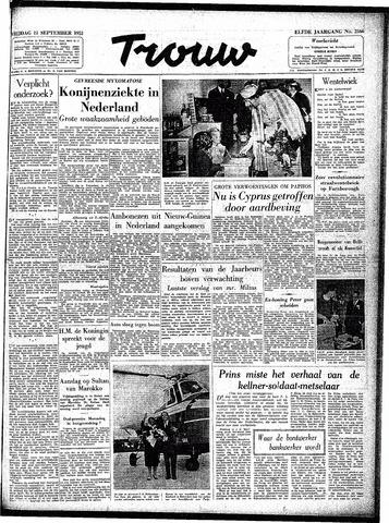Trouw / De Rotterdammer 1953-09-11