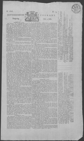 Rotterdamse Courant 1826-07-04
