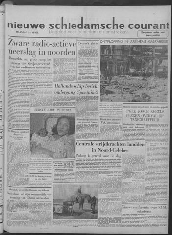 Nieuwe Schiedamsche Courant 1958-04-14