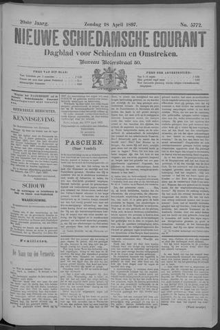 Nieuwe Schiedamsche Courant 1897-04-18