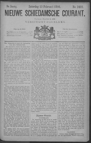 Nieuwe Schiedamsche Courant 1886-02-13
