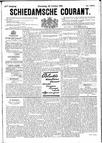 Schiedamsche Courant 1910-10-26