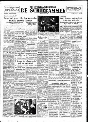 Rotterdamsch Parool / De Schiedammer 1947-12-18