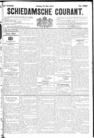 Schiedamsche Courant 1908-05-10