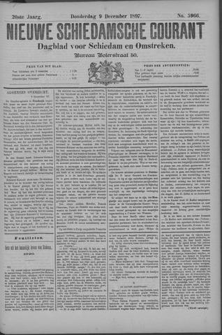 Nieuwe Schiedamsche Courant 1897-12-09