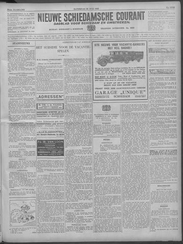Nieuwe Schiedamsche Courant 1933-07-29
