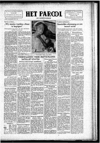Rotterdamsch Parool / De Schiedammer 1946-07-31
