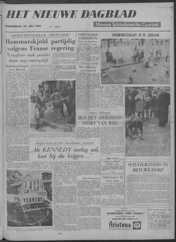 Nieuwe Schiedamsche Courant 1961-07-27