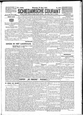 Schiedamsche Courant 1935-04-10