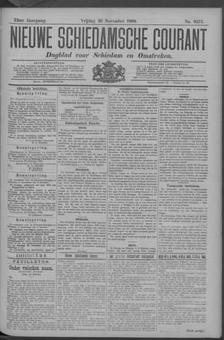 Nieuwe Schiedamsche Courant 1909-11-26
