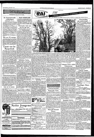 Rotterdamsch Nieuwsblad / Schiedamsche Courant / Rotterdams Dagblad / Waterweg / Algemeen Dagblad 1953-03-04
