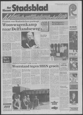 Het Nieuwe Stadsblad 1985-10-23