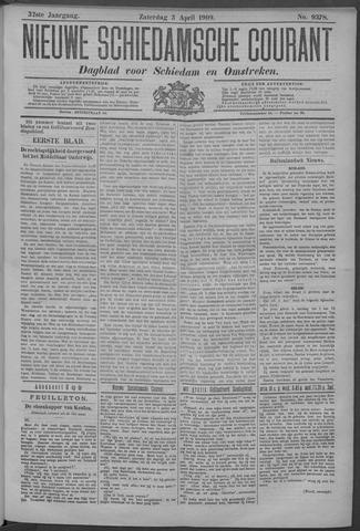 Nieuwe Schiedamsche Courant 1909-04-03
