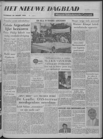 Nieuwe Schiedamsche Courant 1962-03-24