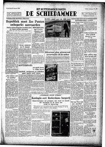Rotterdamsch Parool / De Schiedammer 1948-01-22