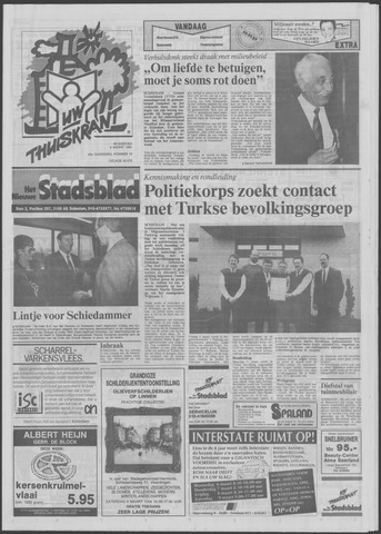 Het Nieuwe Stadsblad 1991-03-06