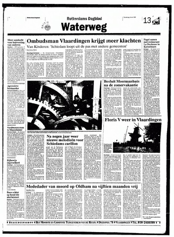 Rotterdamsch Nieuwsblad / Schiedamsche Courant / Rotterdams Dagblad / Waterweg / Algemeen Dagblad 1998-05-14
