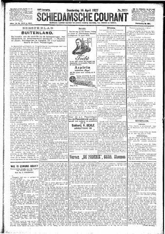 Schiedamsche Courant 1927-04-14