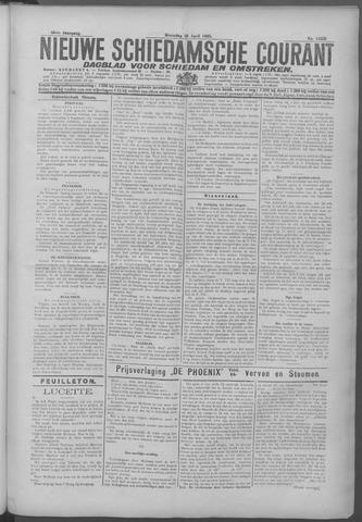 Nieuwe Schiedamsche Courant 1925-04-20