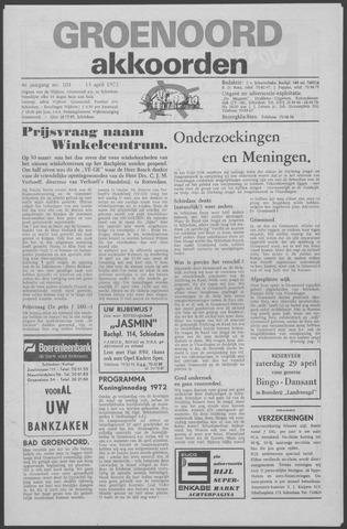Groenoord Akkoorden 1972