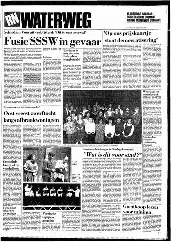 Rotterdamsch Nieuwsblad / Schiedamsche Courant / Rotterdams Dagblad / Waterweg / Algemeen Dagblad 1985-02-25